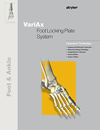 VariAx Foot Locking Plate System